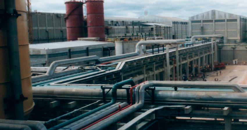 Fábrica de Celulose e Papel – Bahia Sul